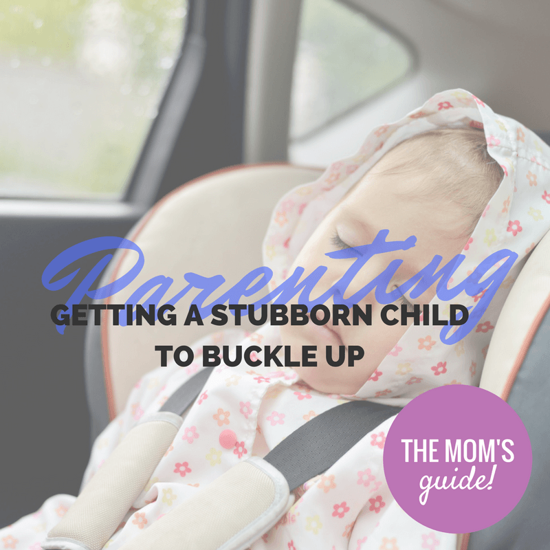 buckling up a stubborn kid - By Megan Kelly
