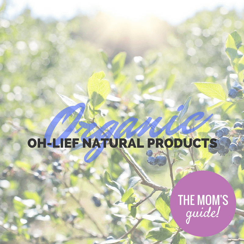 Organic Oh-Lief Natural Products - By Megan Kelly