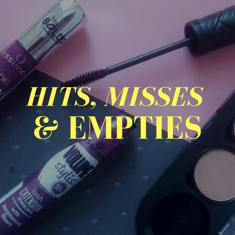 Hits, Misses and Empties for May - By Megan Kelly