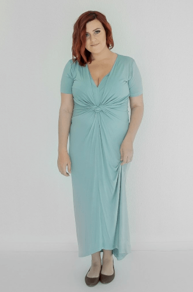 Anneen Henze The BETHANY Dress - Cascade Green - By Megan Kelly