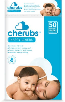 Cherubs Nappy Liners 50s - By Megan Kelly