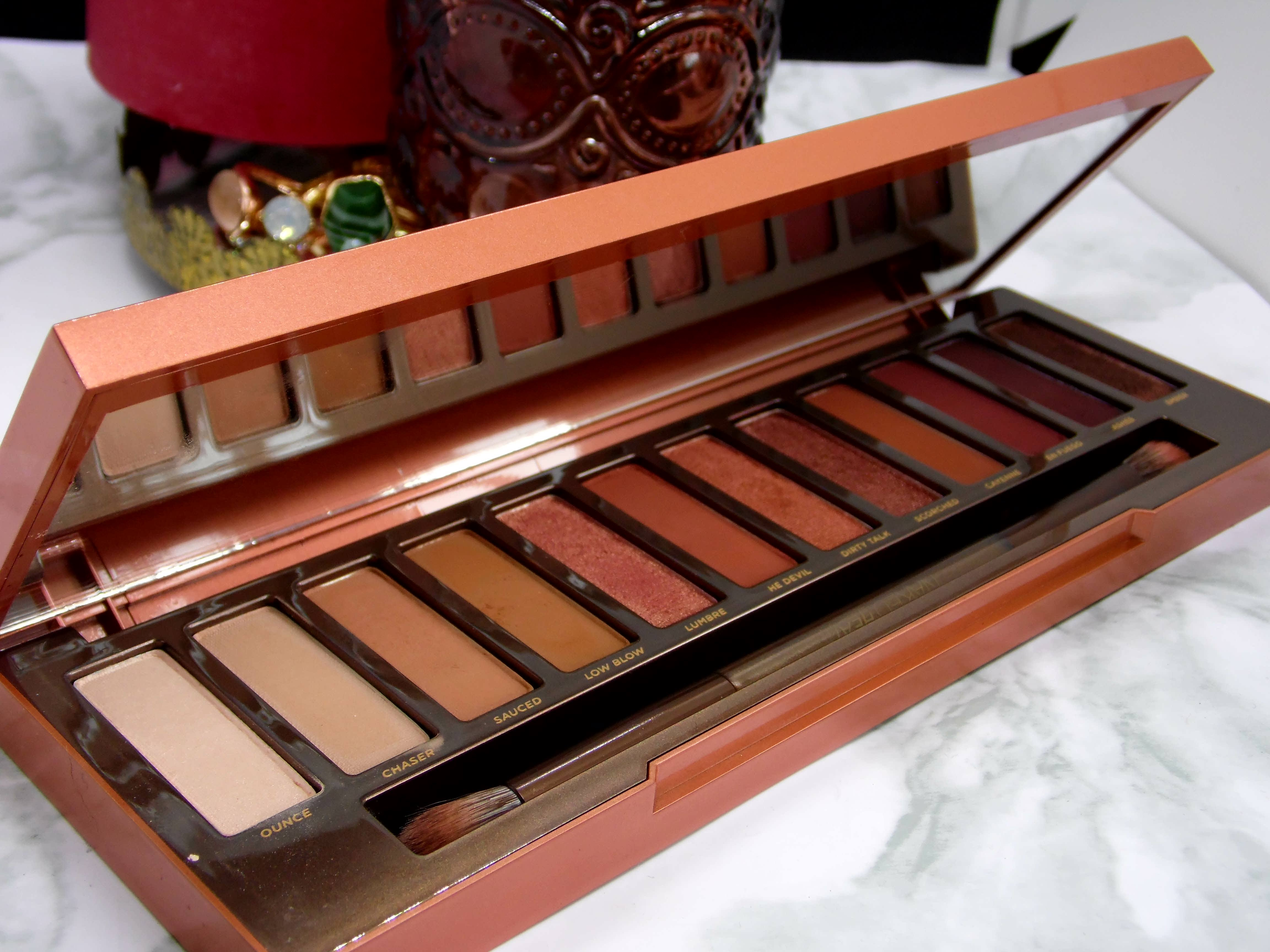 Urban Decay Naked Heat Palette - By Megan Kelly